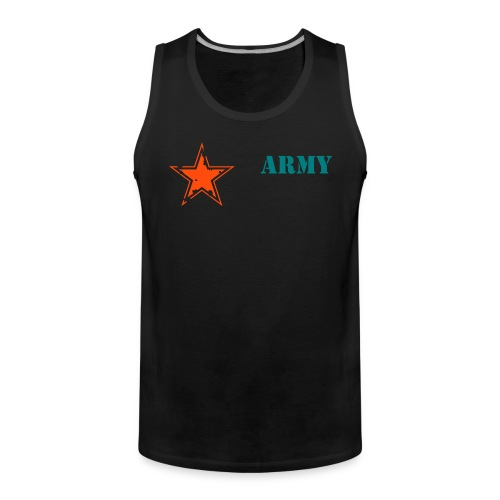 ARMY tank top - Men's Premium Tank Top