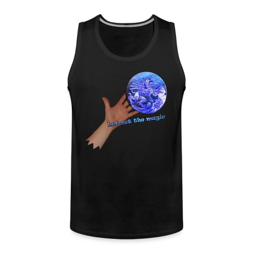 Tanktop, let out the magic - Herre Premium tanktop