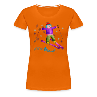 Camisetas ~ Camiseta premium mujer ~ TINA SKI