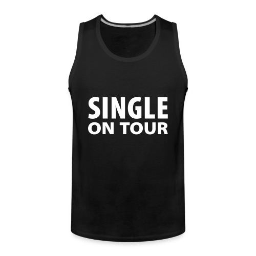 singel on tour - Premium singlet for menn