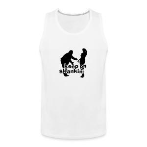 SKA SHIRT - keep on skanking - Männer Premium Tank Top