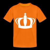Shirts ~ Teenager Premium T-shirt ~ Koninginnedag kroon kindershirt