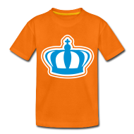Shirts ~ Teenager Premium T-shirt ~ Koninginnedag kroon kindershirt