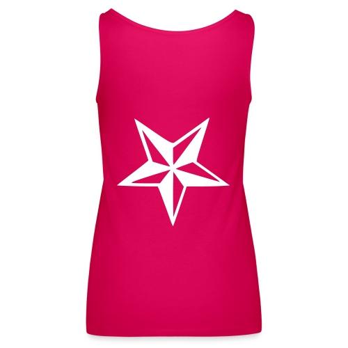 SPAGHETTI - Pink & White - Débardeur Premium Femme