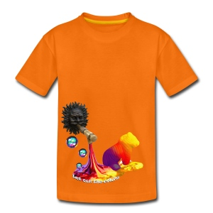 T-shirt børn, Let out the colors - Teenager premium T-shirt