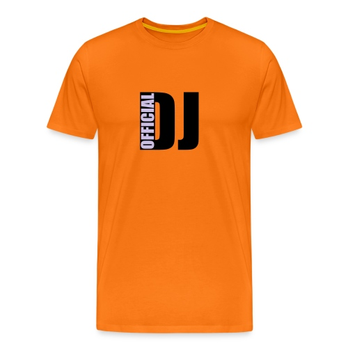 DJ OFFICIEL  - T-shirt Premium Homme