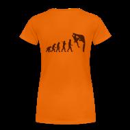T-Shirts ~ Frauen Premium T-Shirt ~ Lady Shirt Humanoide Evolution *