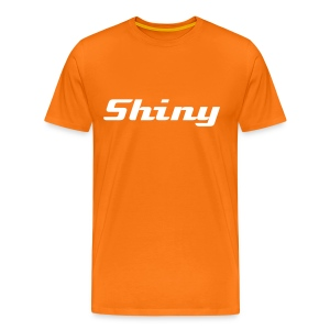 Shiny Text - Men's Premium T-Shirt
