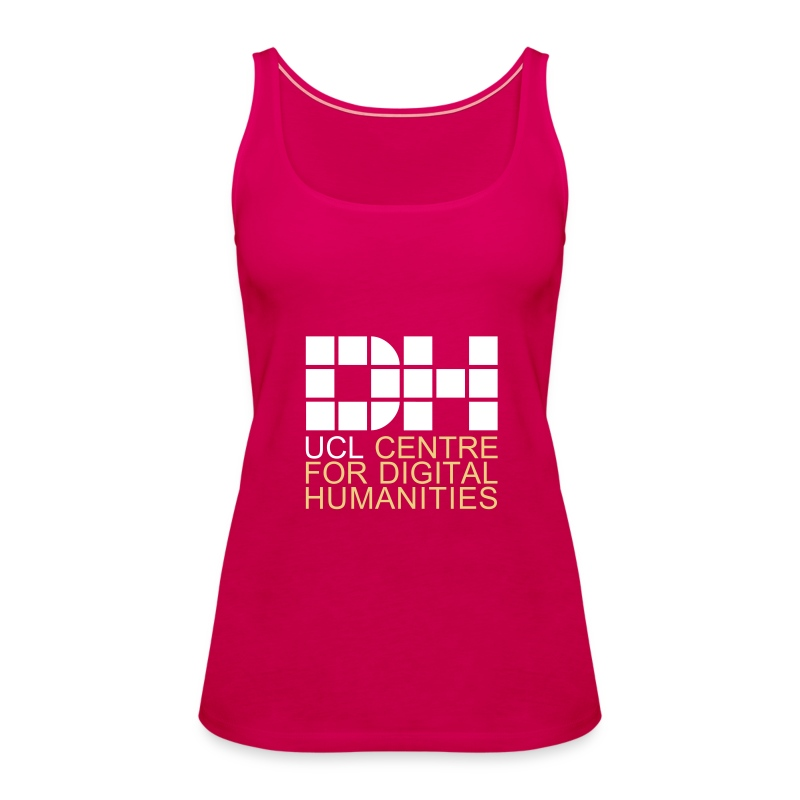 DH UCL captioned remix - Women's Premium Tank Top