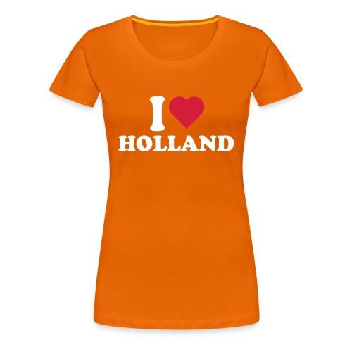 I love Holland - Vrouwen Premium T-shirt