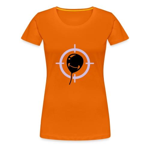 AIM FOR THE BALLOON - Women's Premium T-Shirt