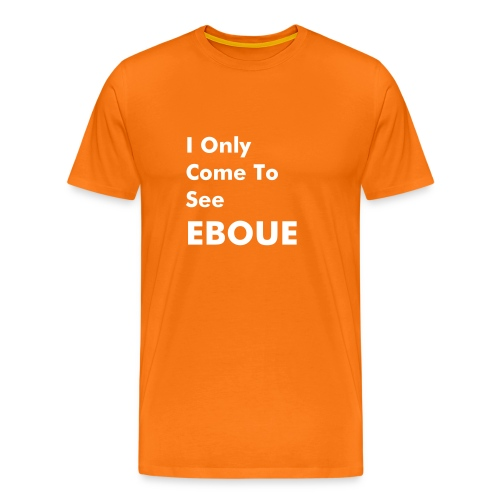 i only come to see eboue - Men's Premium T-Shirt