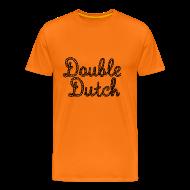 T-Shirts ~ Men's Premium T-Shirt ~ Double Dutch