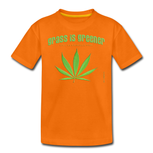 grass is greener - Teenager Premium T-Shirt