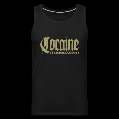 Cocaine - Männer Premium Tank Top