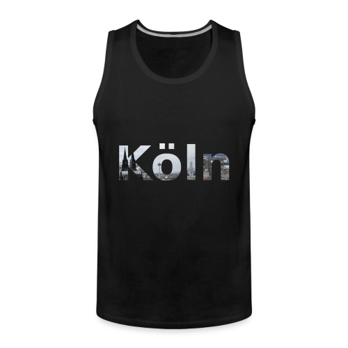 Männer Muscle-Shirt Köln Skyline - Männer Premium Tank Top