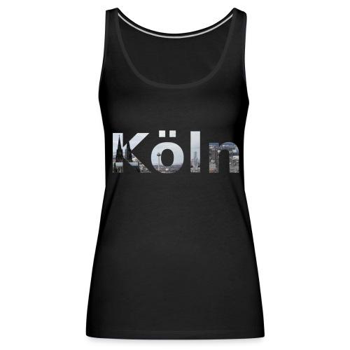 Shirt Köln mit Kölner Skyline - Frauen Premium Tank Top