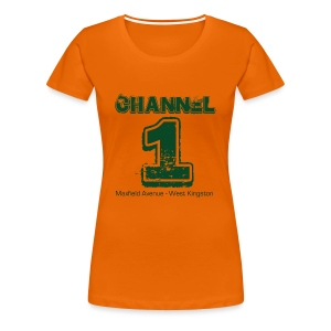 Channel 1 - Maxfield Ave - Women's Premium T-Shirt