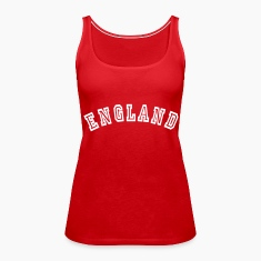 Red England Tops