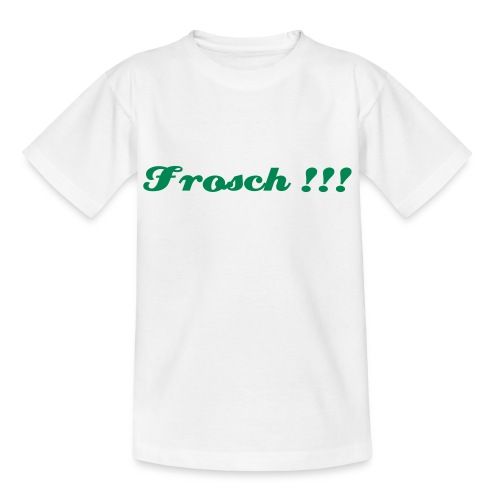 Frosch !!! Kindershirt - Teenager T-Shirt