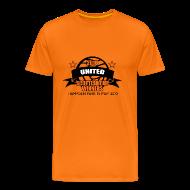 T-Shirts ~ Men's Premium T-Shirt ~ D United 2010 Scottish Cup