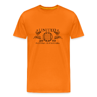 T-Shirts ~ Men's Premium T-Shirt ~ Dundee United - Old Time Winners