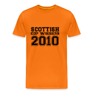 T-Shirts ~ Men's Premium T-Shirt ~ 2010 Scottish Cup Winners