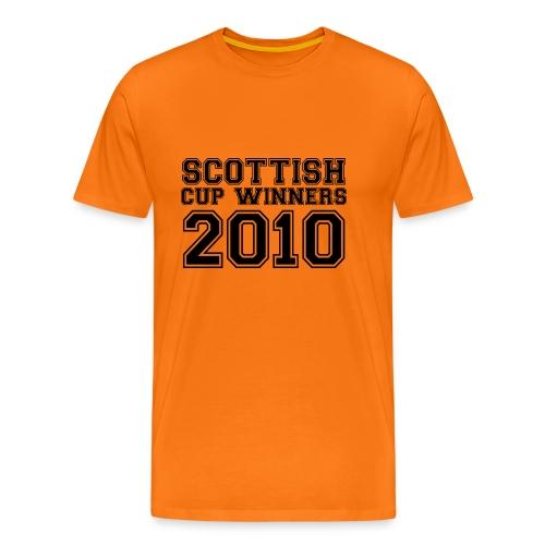 2010 Scottish Cup Winners - Men's Premium T-Shirt
