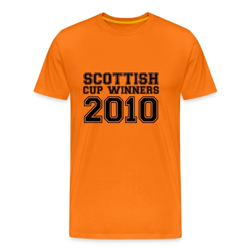 2010 Scottish Cup Winners - Men's Premium T-Shirt