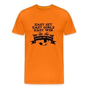 Easy Jet, Easy Girls, Easy Win - Men's Premium T-Shirt