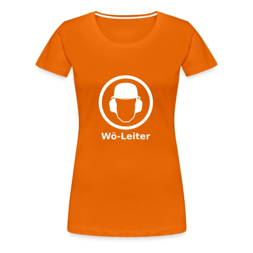 Wö-Leiter - Frauen Premium T-Shirt