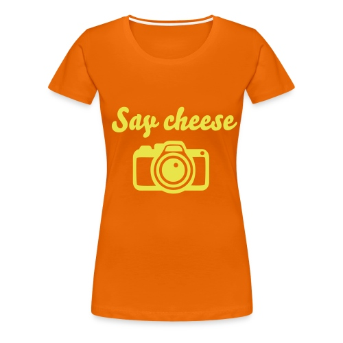 Cheese shirt - Premium T-skjorte for kvinner