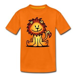 Kindershirt met leeuw - Teenager Premium T-shirt