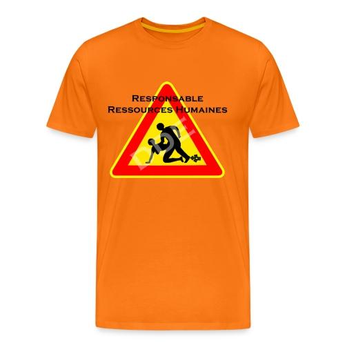 DDE - Responsable Ressources humaines - T-shirt Premium Homme