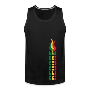 Reggae Shirt Keep The Fire Burning - Männer Premium Tank Top