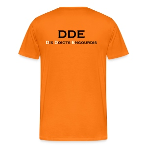 DDE - Responsable planning - T-shirt Premium Homme