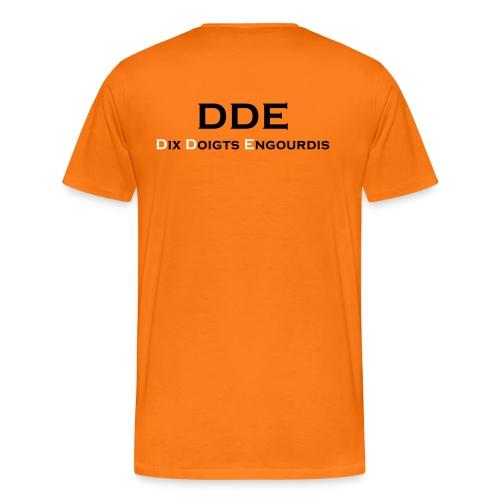 DDE - Responsable planning - T-shirt Premium Homme