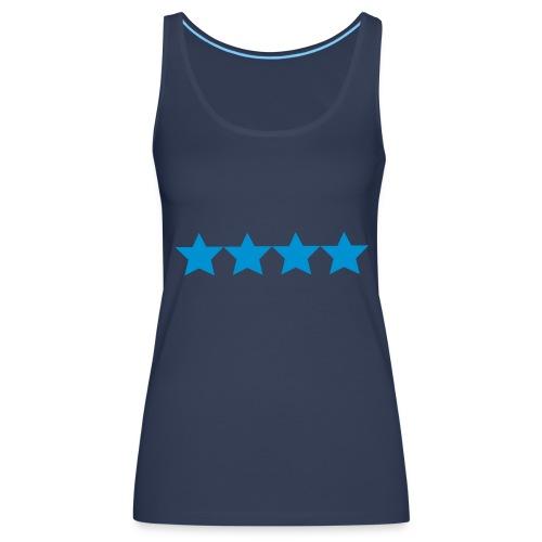 stars blue - Women's Premium Tank Top
