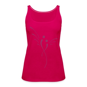 Engel (red-sparkle) - Frauen Tank Top - Frauen Premium Tank Top