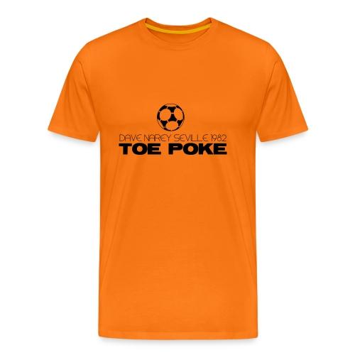 Toe Poke - Men's Premium T-Shirt