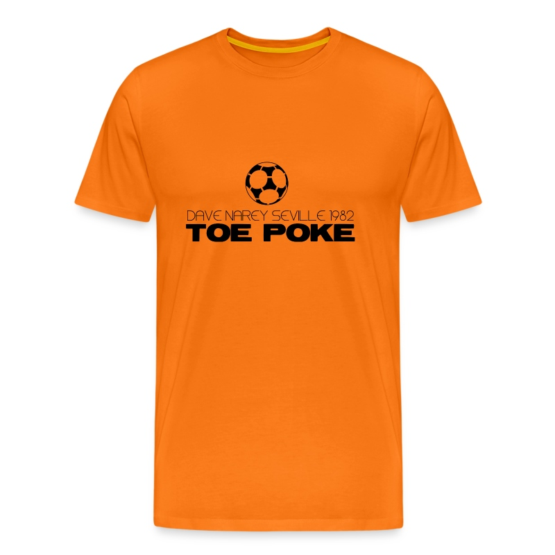 Toe Poke - Men's Premium T-Shirt