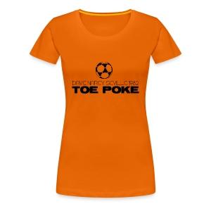 Toe Poke - Women's Premium T-Shirt