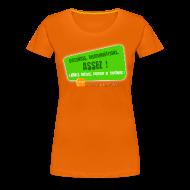 Tee shirts ~ T-shirt Premium Femme ~ LGBT Pride Paris 2010 - Violences, discriminations : assez !