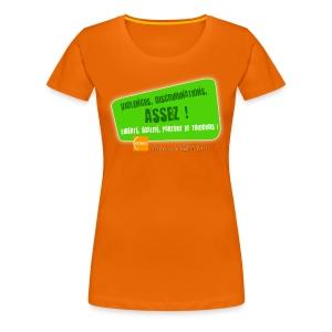 LGBT Pride Paris 2010 - Violences, discriminations : assez ! - T-shirt Premium Femme