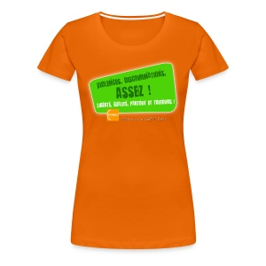 LGBT Pride Paris 2010 - Violences, discriminations : assez ! - T-shirt Premium Femme