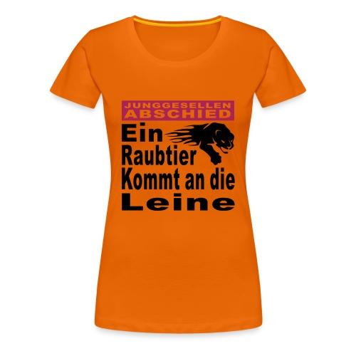 Jungesellenabschied - Frauen Premium T-Shirt