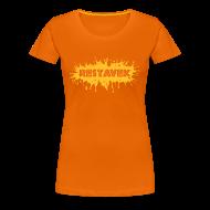 T-Shirts ~ Frauen Premium T-Shirt ~ T-Shirt Frau Restavek Splash 02 © by kally ART®