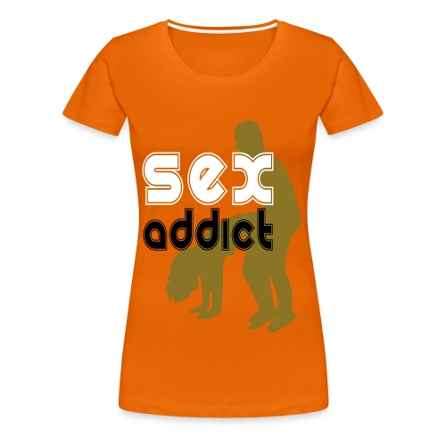 SEX ADDICT - Camiseta premium mujer