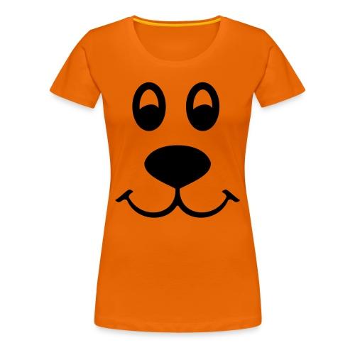 Women's Bear Face T-Shirt - Women's Premium T-Shirt