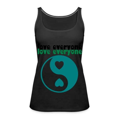 love everyone vest - Women's Premium Tank Top